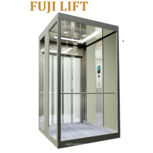 Elevador Home com a cabine de vidro da companhia de FUJI