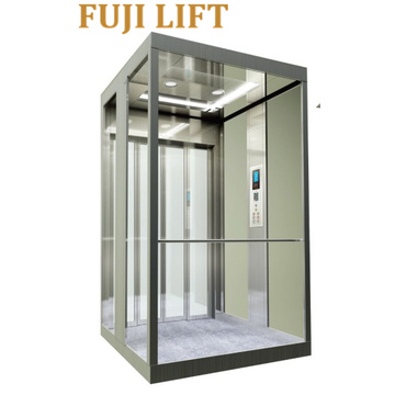 Home Lift with Glass Cabin From FUJI Company