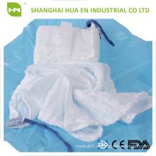 CE FDA ISO Genehmigte blaue sterile Schleife Bauch-Tupfer Schoß Schwamm