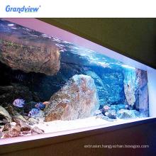 Clear large size aquariums equipments products for aquarium fish tank