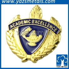 Medalhas de prêmio para Excelência Acadêmica para estudantes