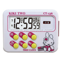 Temporizador de kichen / temporizador / campainha de 24 horas com temporizador