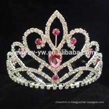 Женские аксессуары для волос кристалл коготь цепь корона оголовье