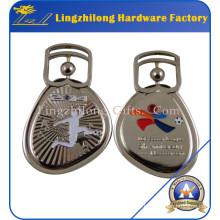 Médaille sportive de course en métal de nickelage