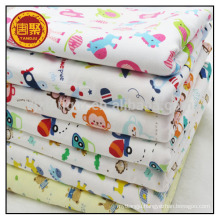 100% cotton printed knitted fabrics