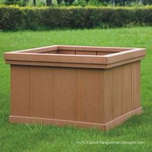 High Quanlity Wood Plastic Composite /WPC Flower Box 600*600*390