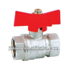 J2026 Forged Brass Ball Valve butterfly handle