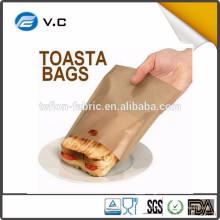Sacs à torréfacteurs en téflon à micro-ondes pour les sandwichs au fromage grillé Facile
