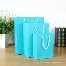 Sacs en papier de luxe pour mariage MOQ 500, sacs en papier