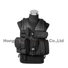 Army Military Paintball Combat Soft Tactical Safety Camping Vest (HY-V059)