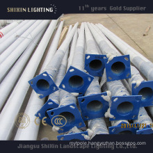 13m Galvanized Conical Steel Lighting Pole