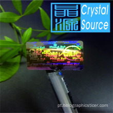 2d / 3d Hologram Sticker Printing