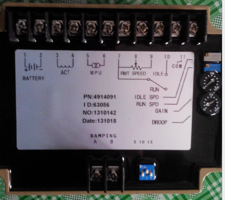 CUMMINS Speed Controller