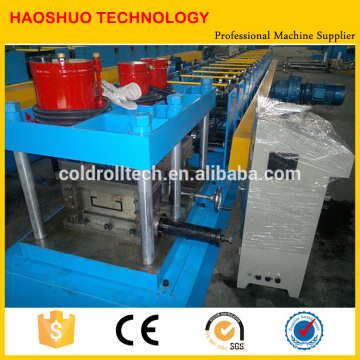 Forma de aço C Purlin Perfil Roll formando máquina