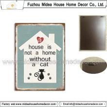 Factory Custom Cat Metal Tin Sign