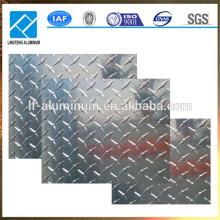 Proveedor de placas de aluminio repujado 5052