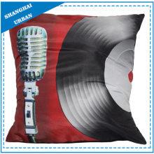 Vinyl-Schallplatte bedrucktes Polyester-Wurfkissen