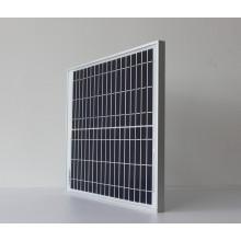 Carga del panel solar del silicón policristalino 30W 18V para la batería 12V