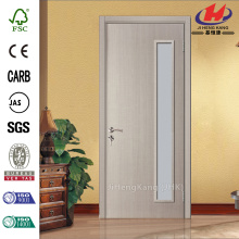 Estilo occidental JHK-010 aislado puertas interiores de 1 y medio