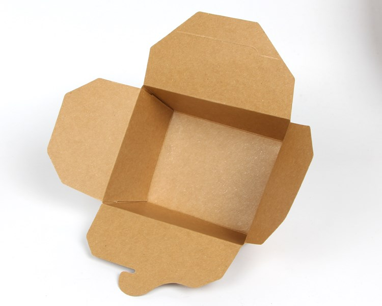 Kraft paper lunch box