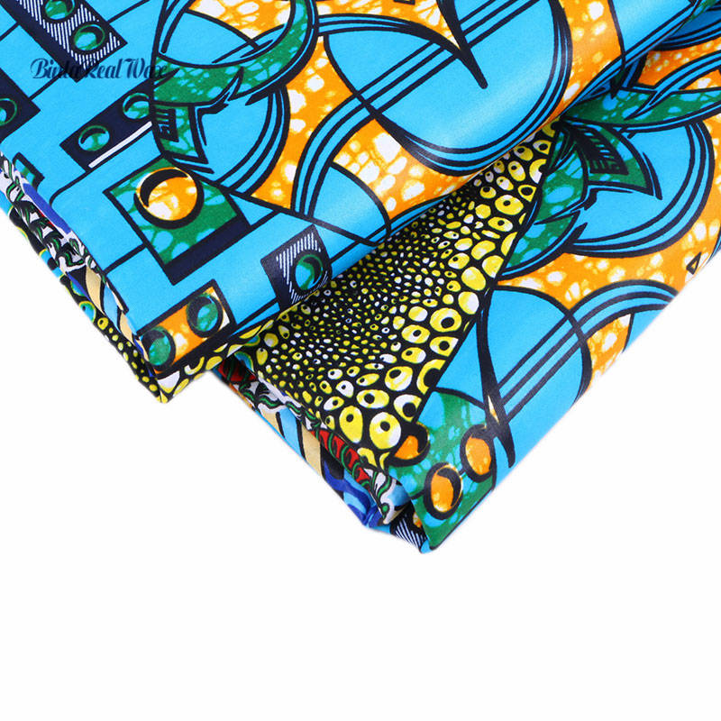Fashion Beautiful African Style Cotton Fabric