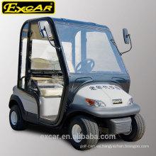 EXCAR 2 plazas carrito de golf eléctrico china golf buggy coche eléctrico carro de golf scooter