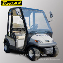 2 seat electric fuel type and electric golf cart with cabin 48V electric golf buggy car