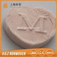 Поделки сжатого маска натуральный розовый ткань nonwoven сжатого маска