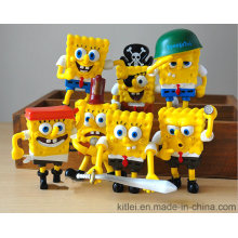New Spongebob Squarepants Series Plastic Toys