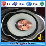 Câble de cuivre de XLPE de 220kv 1c1600sqmm KEMA CERTIFIÉ