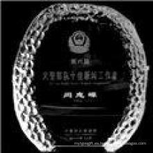 Premio de Trophy de Cristal en Blanco de Nueva Moda (JD-K135)