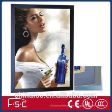 Venta por mayor caja luz LED magnético de la foto del marco
