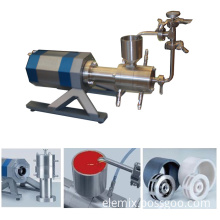 Ele Horizontal Grinding Mill for Lab Use