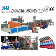 1040mm Width UV Resistance UPVC Glazed Tiles Extrusion Machine