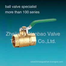 2PC Female Threaded Brass Ball Valve Manufacturer