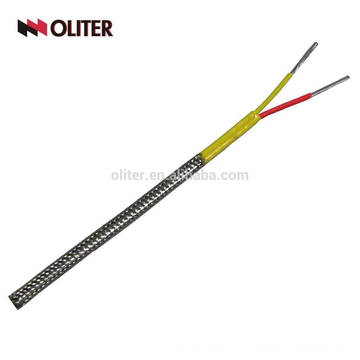 Thermocouple compensation wires and bare cables chromel alumel thermocouple wire type k