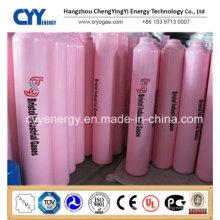 50L Utilisation médicale Sans soudure Acier Acoustique Hydrogène 150bar / 200bar Cylindre à gaz