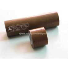 Tela adhesiva de PTFE antiadherente para la máquina de sellado