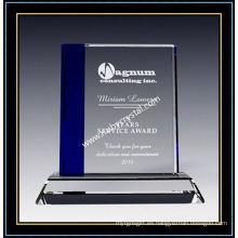 """Placa de premio de cristal de zafiro cuadrado 7 """"H (NU-CW713)"""