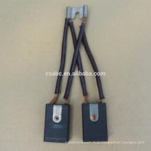 Escova de carvão de eletrografita SA3532