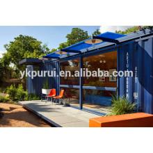 Casa de recipiente profissional casa de contêiner alemão / europeu / casa de contentores de 40 pés