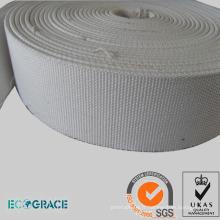 Tissu de toile à bande transporteuse à glissière d'air