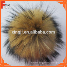 Natural Color real fur, Pom Pom Fur Balls
