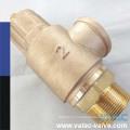 Ру10/Ру16/Pn25 бронзовый предохранительный клапан с резьбой заканчивается