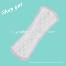 Nueva producción de revestimientos panty airlaid, almohadilla sanitaria bio fc de coreano