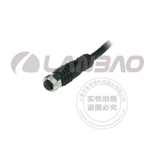 Lanbao M8 Stecker mit 2m PVC Kabel 4pol