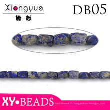 10mm bleu naturel Semi précieuses