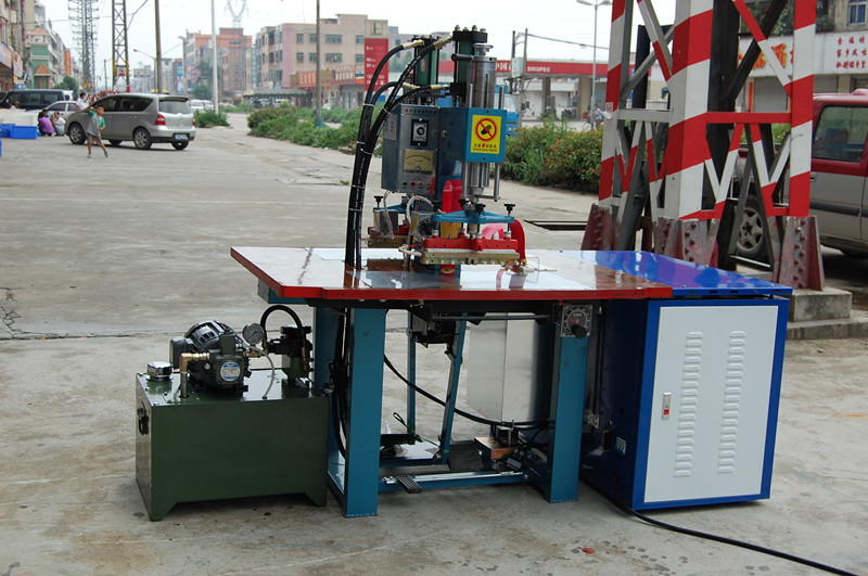 High Frequency TPU Embossing Machine