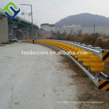 China made roller barrier system / safety rolling barrier / guardrails