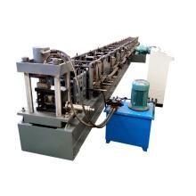Innovador rodillo de rack de hierro de ángulo de almacenamiento de sección c fabricante de la máquina
